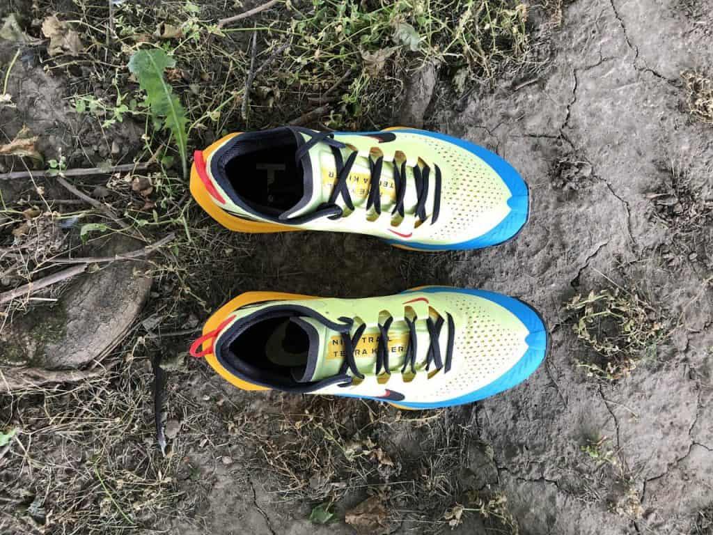 Nike Zoom Terra Kiger 7 – Вид сверху